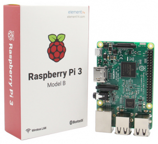 Raspberry Pi 3 Model B ARM Cortex-A53 CPU 1.2GHz 64-Bit Quad-Core 1GB RAM 10 Times B+