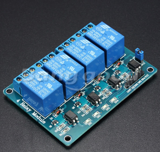 Relay Module - 5V 4 Channel