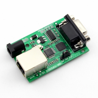 RS232 to Ethernet TCP/IP module